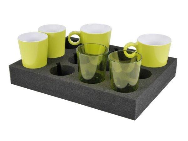 Glas- / Tassenhalter Schaum